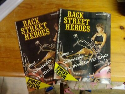 Back Street Heroes Motorcycle Magazine Archive - From Nov 1983 to May 2008