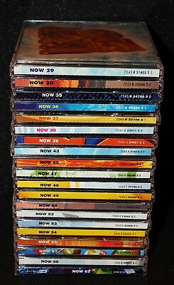 NOW That's What I Call Music 20 Set Lot Compilation UK Import 40 CDs 1994 - 2005
