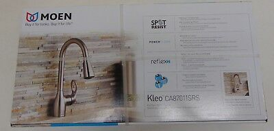 MOEN Kleo Single-Handle Pull-Down Sprayer Kitchen Faucet CA87011SRS