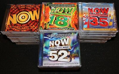 Every NOW That's What I Call Music 1 Thru 68 US CD Lot Compilation Album + BONUS