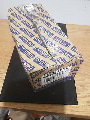 50 x Clear Concealed Brick Tunnel Peep Weep Vents Cavity Wall Timloc