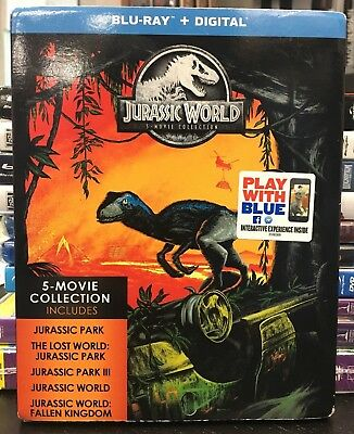 Jurassic World: 5-Movie Collection (Blu-Ray / Digital )