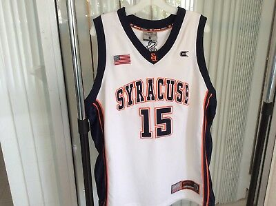 70fd2cbf98d ... discount code for carmelo anthony 15 ncaa syracuse college men  basketball jersey stitchd white xl 36151 ...