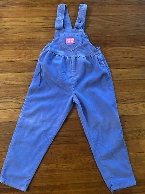 Vintage Oshkosh Toddler Kids Overalls One Piece Playsuit 5T