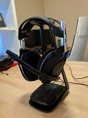 Astro A50  Edition Black/Blue Headband Headsets for Multi-Platform - Refurbished