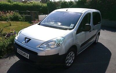 Peugeot Partner Tepee URBAN 90, 5 Door, Manual, Wheelchair Accessible, 28k Miles