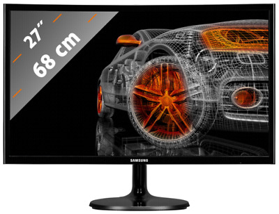 Samsung C27F390FHU LED Curved NEU
