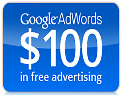 100$ Google Adwords Credit