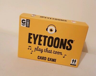 Ginger Fox Eyetoons Card Game, Vgc, Complete