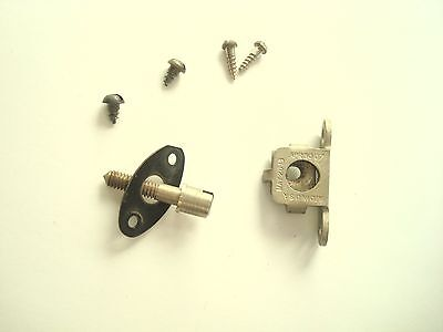 Western Electric wood wall telephone  and subset ringer door catch