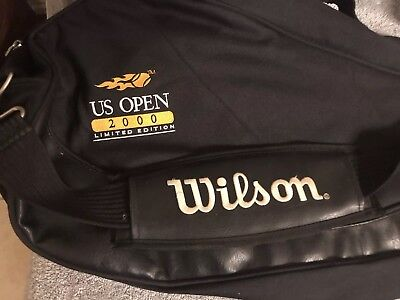 Wilson Black 2000 US Open Limited Edition Tennis Racquet Bag