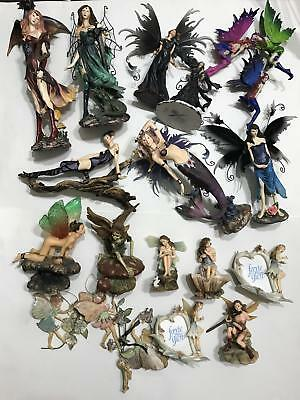 LOT David Ent Sexy Magical Mystic Fairy Fairies Faerie Glen Art Statue Figurines