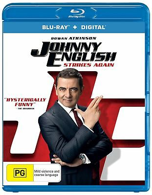 Johnny English 2018+Peppermint 2018 offer 2 in 1 free shipping only bluray***