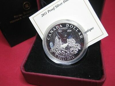 2011 $1 Proof Silver Dollar - 100 Years of Parks Canada