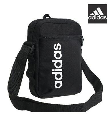 6cd908ab4f Adidas Linear Performance Messenger Shoulder Cross Travel Accessory Bag  DT4822