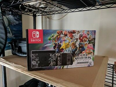 Nintendo Switch Super Smash Bros. Ultimate Edition - includes TWO extra GAMES