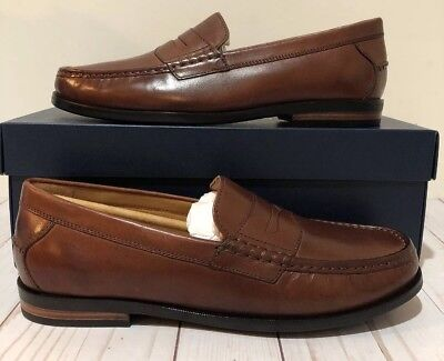 cdb6bae700a COLE HAAN SHOES Contemporary Brown Pinch Penny Loafer C23845 ...