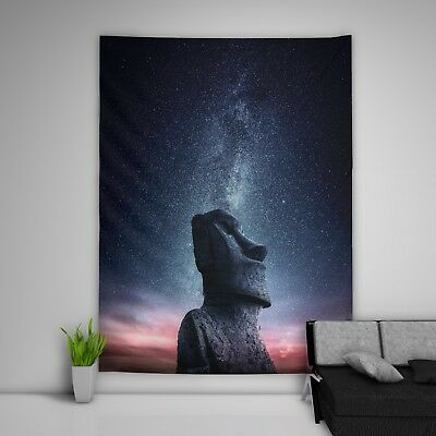 Sky Stone Tapestry Art Wall Hanging Sofa Table Bed Cover Home Decor