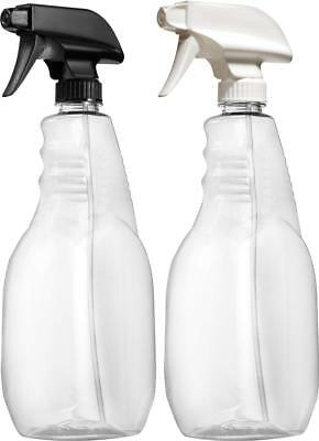 Empty Spray Bottles for Cleaning Solution with Color Coded Trigger Sprayers 3...