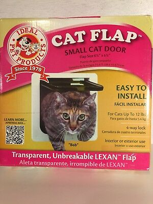 Ideal 5 In X 7 In Small Frame Cat Dog Pet Door And Flap 3023