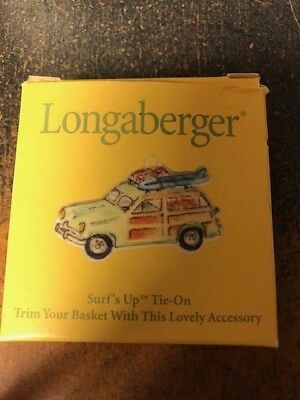 Longaberger Surf's Up Tie-On