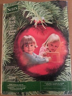 SEARS CATALOG WISH BOOK 1977 CHRISTMAS/Toys/Dolls/Fashions/Watches/Bikes,Guns+++