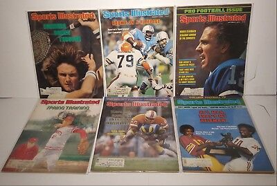 Lot of (74) 1970-1980 Sports Illustrated, Magic+Bird College, rookie Issues More