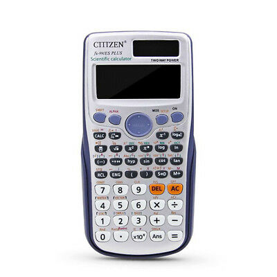 Scientific Calculator FX-991ES PLUS Advanced 417 Functions for Student Math Gift