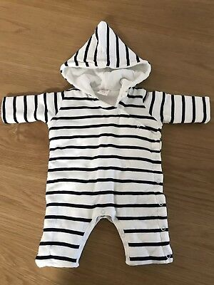 Seed Baby Padded Jumpsuit with Hood