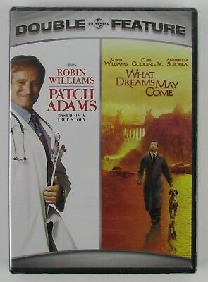 Patch Adams & What Dreams May Come - Double Feature - DVD