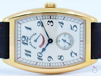 Franck Muller 2852 Cintree Curvex Power Reserve 18K Rose Gold Watch Box & Papers
