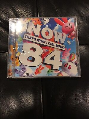 [BRAND NEW SEALED] Various Artists Now That's What I Call Music! 84 2 CDs