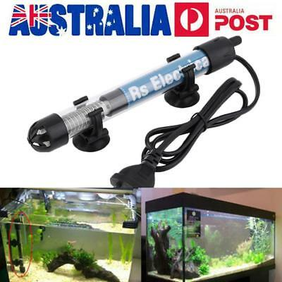 Adjustable 25W 50W 100W 200W 300W Submersible Aquarium Fish Tank Heater Temp AU