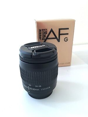 Nikon AF Nikkor 28-80mm 1:3.3-5.6 G Like New, Box