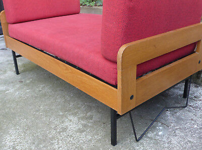 Fauteuil 2 places daybed années 50