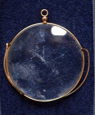 Antique Edwardian Monocle  with gallery presumed Gold