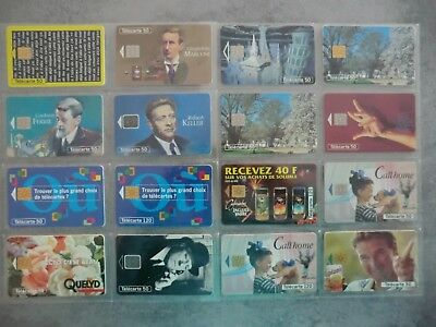 1 Lot 40 Telecartes D'occasion France 1994