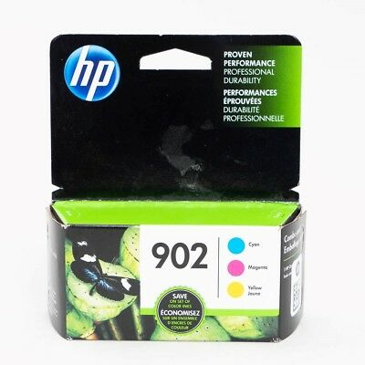 HP 902 Combo Pack CMY Ink Cartridges Expired Oct 2018 Cyan Magenta Yellow Sealed