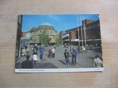 13 April 1993 A Dennis Postcard The Cross Town Centre Kilmarnock Frome Somerset
