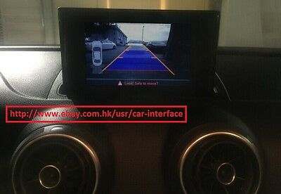 Audi A3 8v MIB Reverse _ rear view _ Backup Camera system Retrofit Interface kit