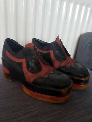Vintage mens 70's shoes size 9-10