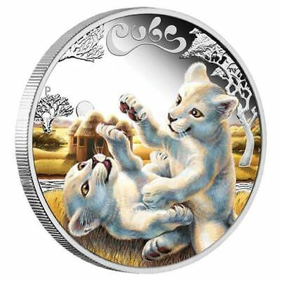 2016 1/2 oz. Silver Proof Coin The Cubs – White Lion