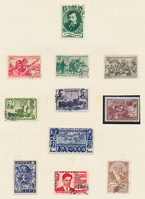 Russia Stamps 1939 1940 Ussr Occupation Poland Vfu, Polar Research Mint Og Vf