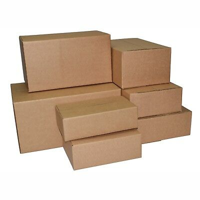 25 X Single Wall Cardboard Boxes - Range of Non Standard Sizes