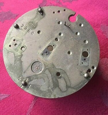 Japy  Freres 81.5mm Dia  French  Clock Plates  For Spares Or Repair