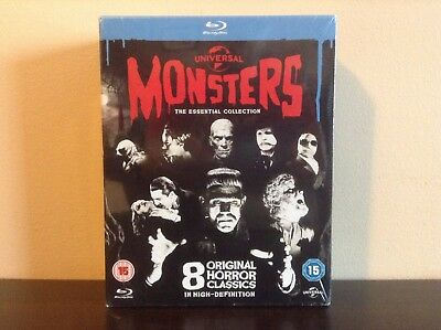 Universal Classic Monsters - The Essential Collection [Blu-ray] *NEW*