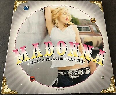 "Madonna - What It Feels Like For A Girl 12"" Vinyl  W533T1  Maverick 2001"