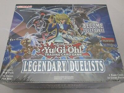 Yugioh Legendary Duelists 1St Ed Sealed Booster Box