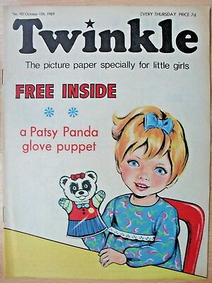 TWINKLE COMIC - 11th OCTOBER 1969 (11th - 17th oct) - RARE 50th BIRTHDAY GIFT!!