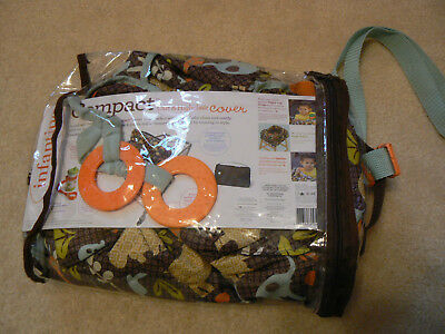 Infantino Shopping Cart and High Chair Cover Unisex Jungle Print